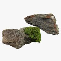 3d stones scan model