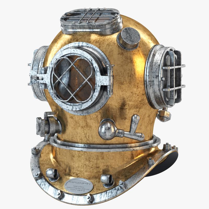 max navy diving helmet 02