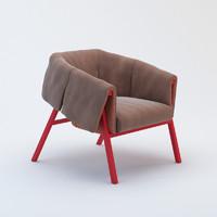 3d max armchair chair