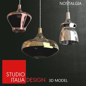 studio italia nostalgia lamp 3d max