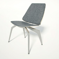 spider chair 3d model