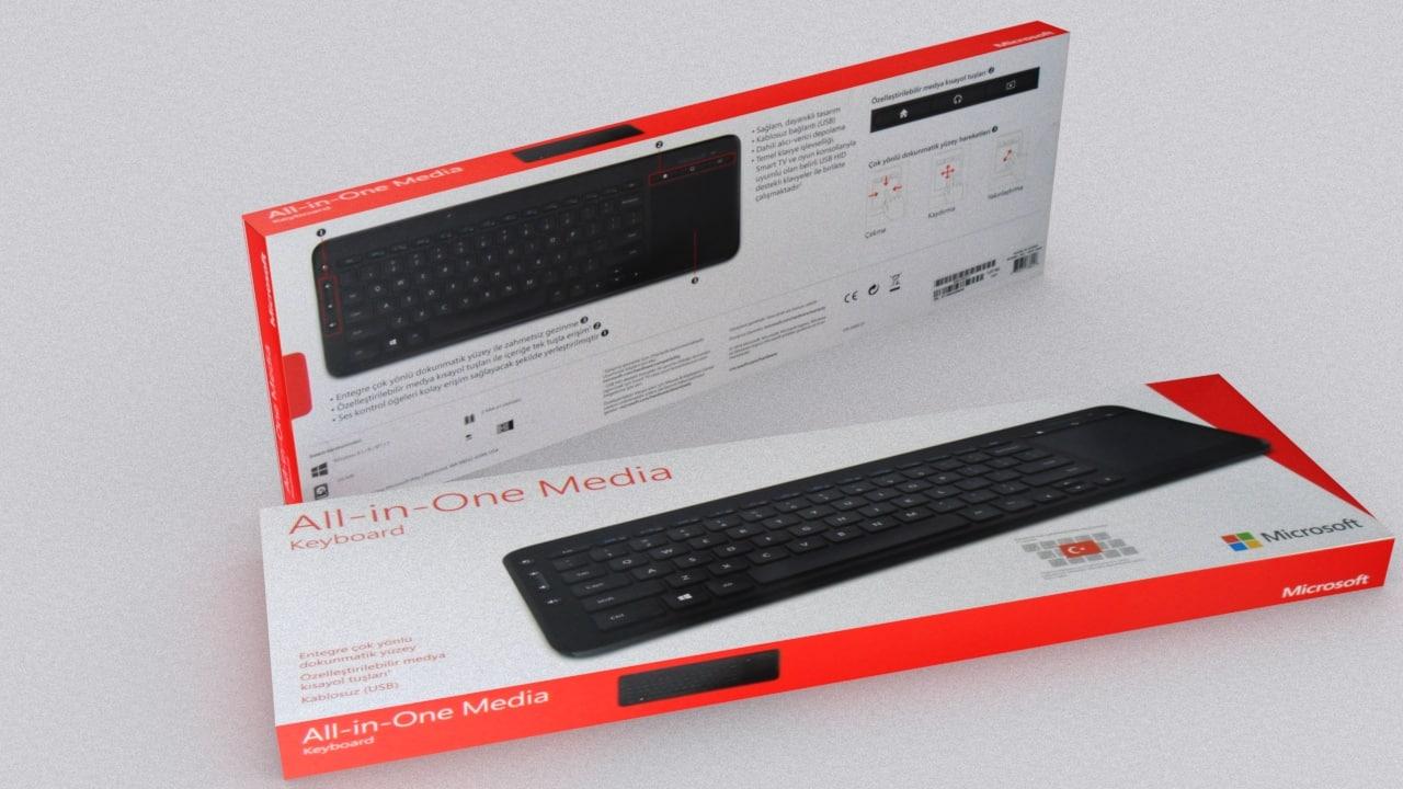 Microsoft Keyboard Box 1
