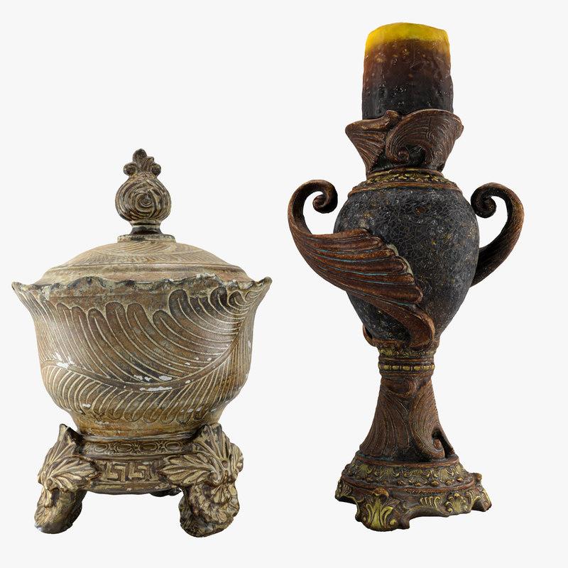 3ds max vases