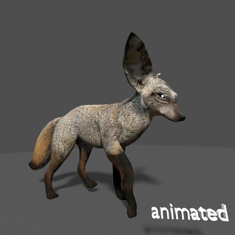 3ds max fox