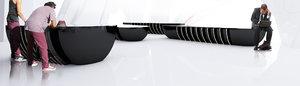 design modern bench 3d model