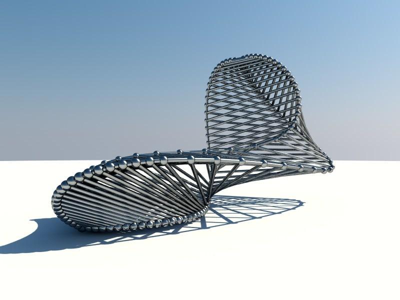 contemporary sculpture 3ds