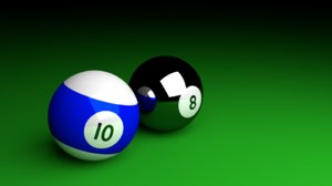 pool balls blend