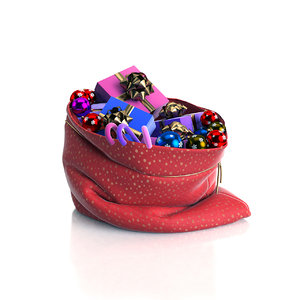 3ds max santa s bag