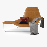 Zanotta Lama Lounge Chair