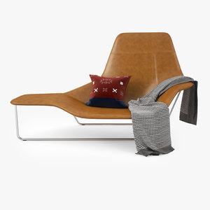 zanotta lama lounge chair 3d max