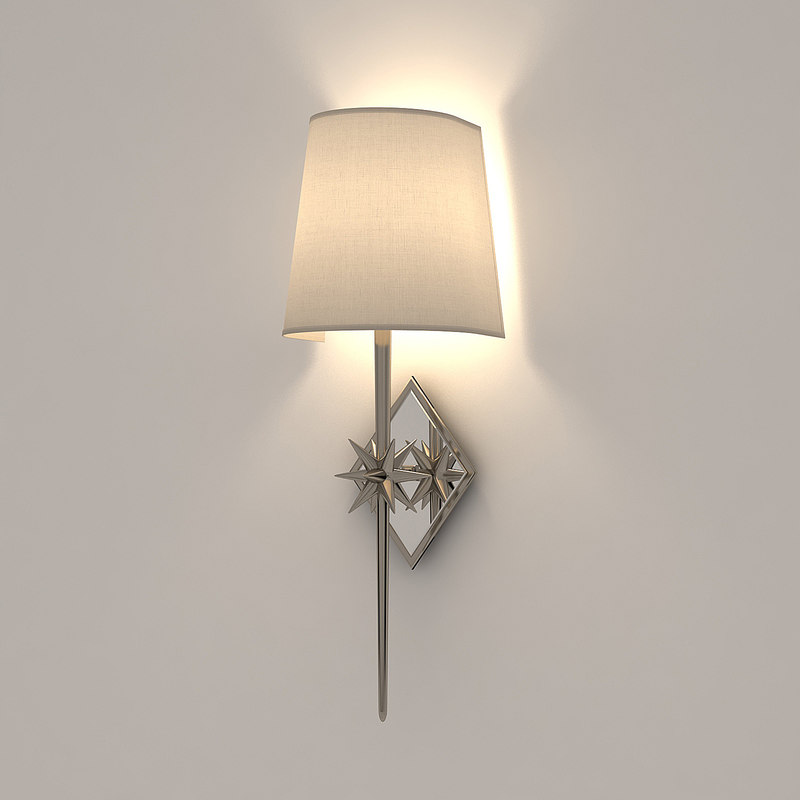 3d model visual comfort etoile sconce