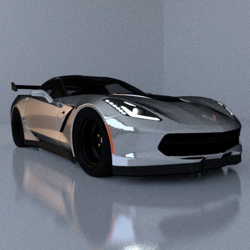 3ds max 2016 corvette stingray