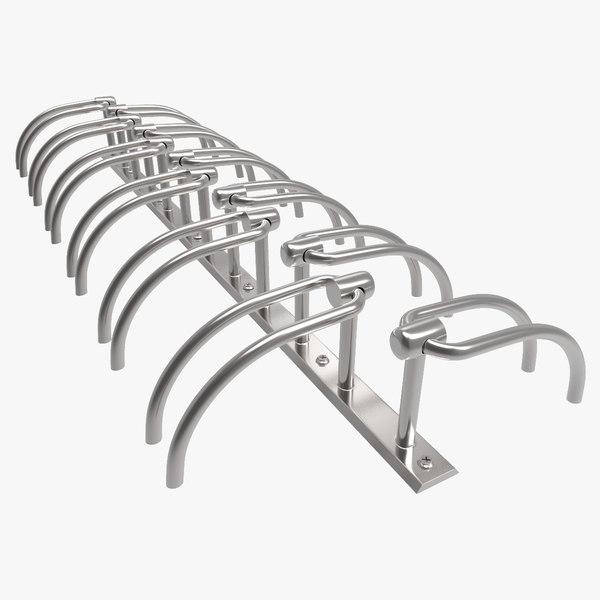 3d model design bike rack park