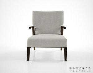 3d lorenzo tondelli rea armchair