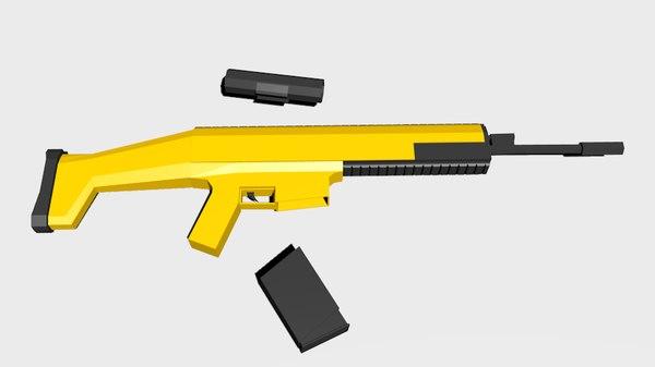 3d scar weapon