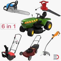 Garden Power Tools Collection