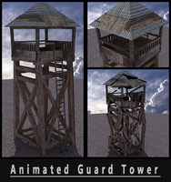 Animated Guard Tower