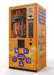 max fresh orange juice vending machine