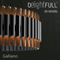 3ds max delightfull galliano lamp light