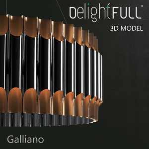 3ds max delightfull galliano lamp light