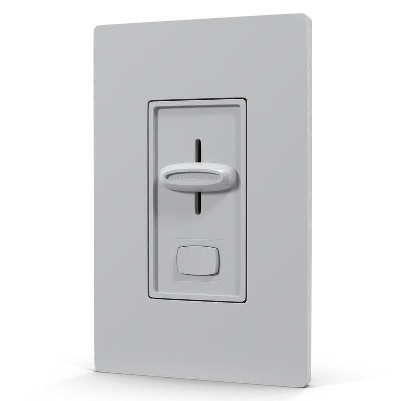 3d dimmer switch model
