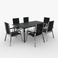 table kettler 3d model