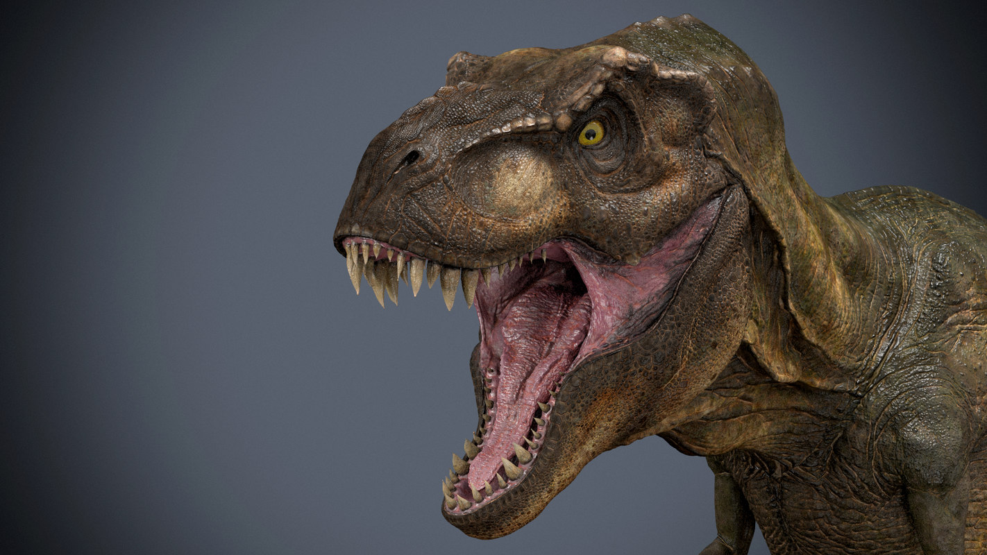 tyrannosaurus 3d ma