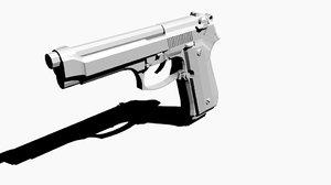 3d m9 handgun