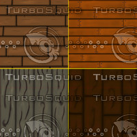 Cartoon wood texture pack