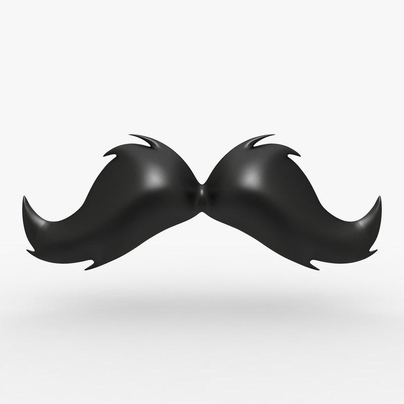 max cartoon mustache 07