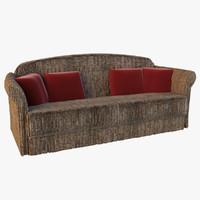 velvet sofa 3ds