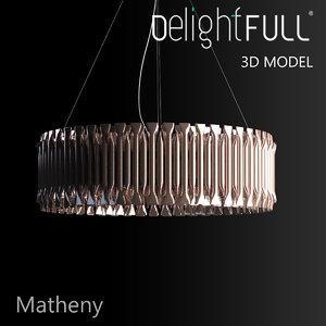 delightfull matheny lamp light 3d model