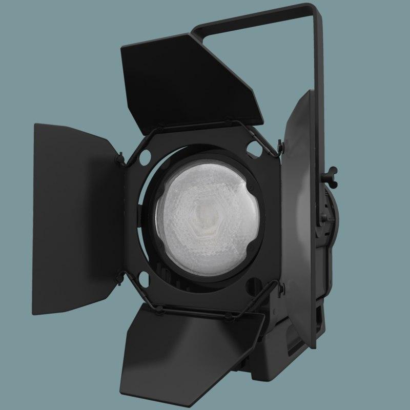 3d litepanels spotlight studio light