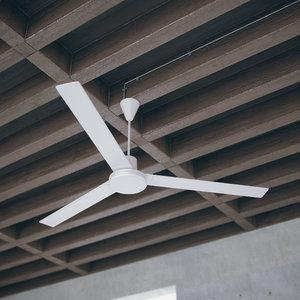 free obj model ceiling fan