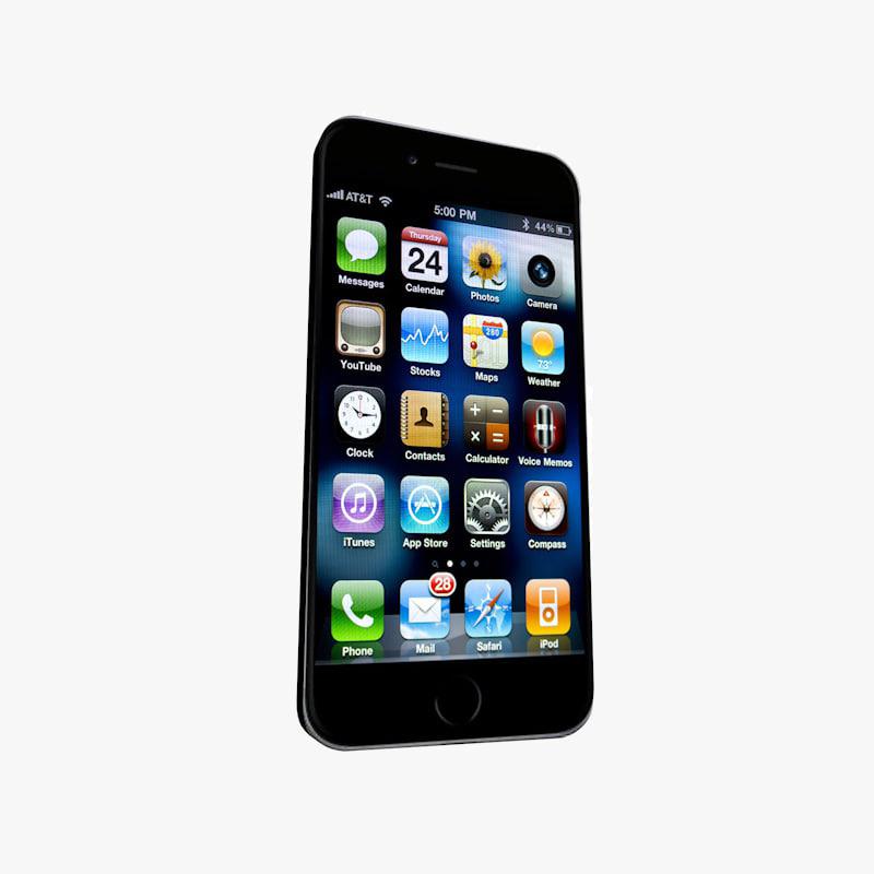 smartphone uv 3d c4d