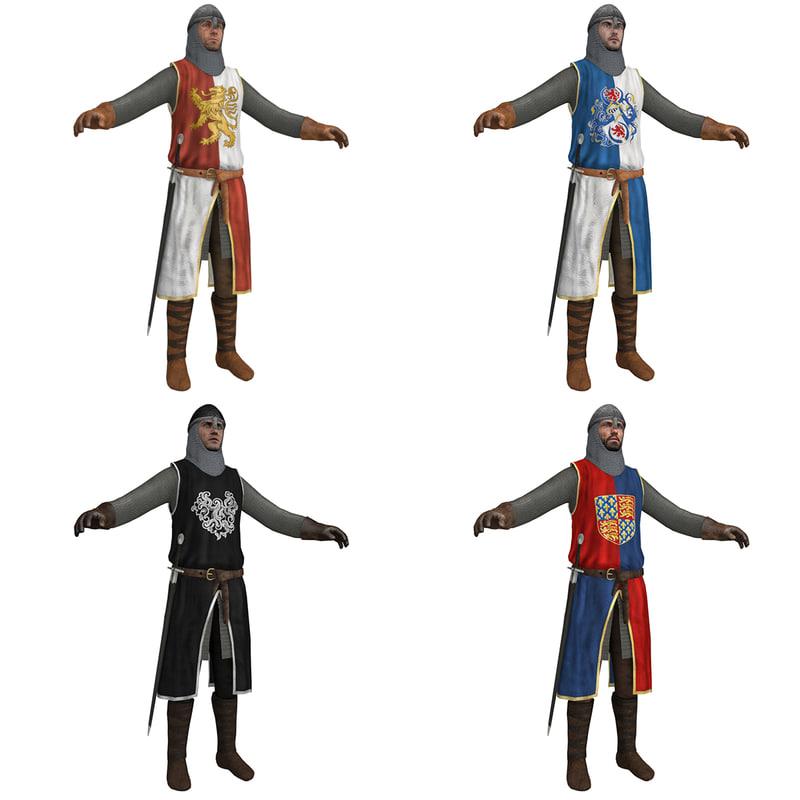 medieval knight s helmet 3d model