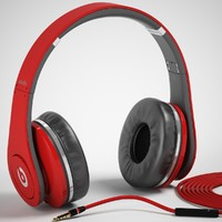 Monster Beats Studio Headphones with headset