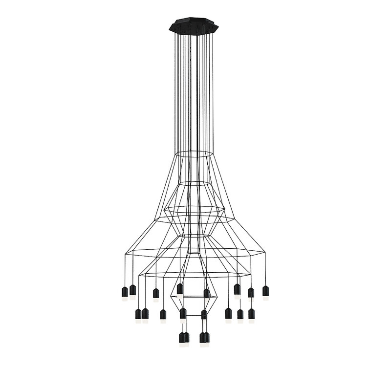 vibia wireflow wire 3d model