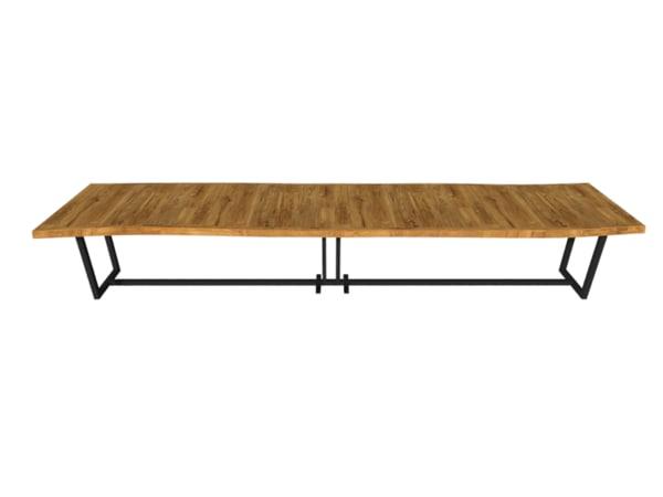3d wooden desk model