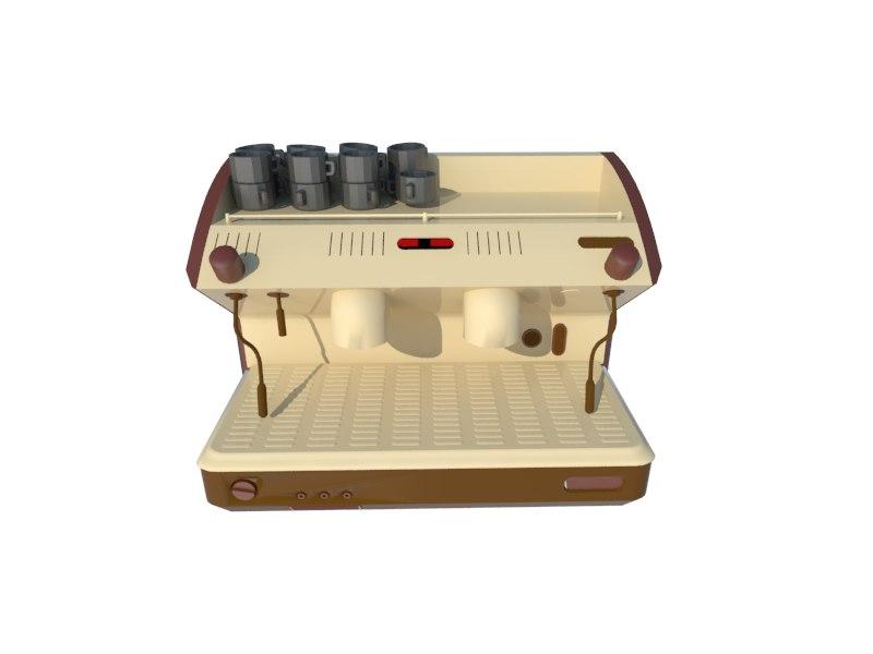 3ds coffee machine