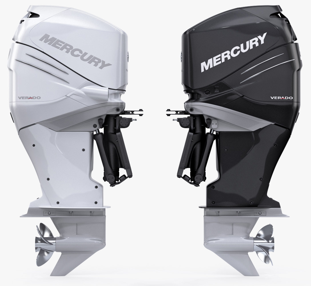 mercury verado 350 power 3d model