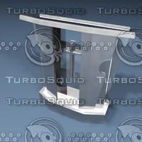 1 pulpit glass 3d model