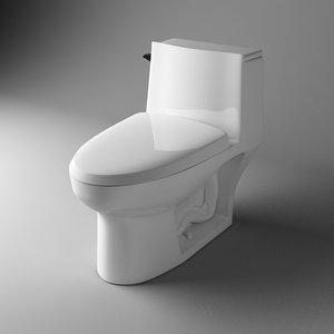 toilet 931 3d model