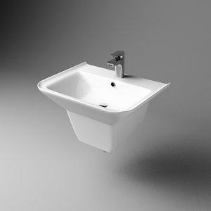 washstand wash 3d model