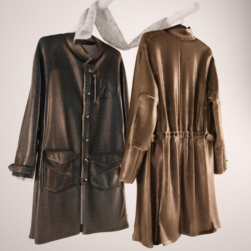 jacket coat rack 3d max