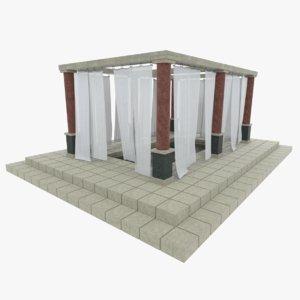 obj ancient roman bath