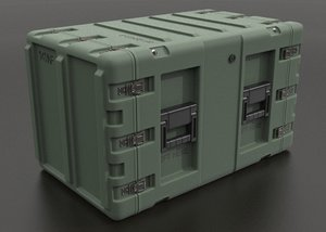 military crate 3d model