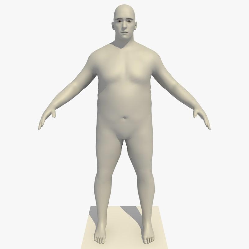 3d model realistic base mesh 45