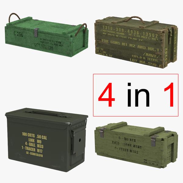 c4d ammo crates 2