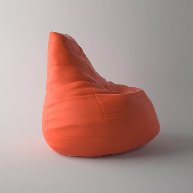 Zanotta Sacco Chair 3d 3ds